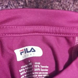 fila sport Other - Capris and shirt